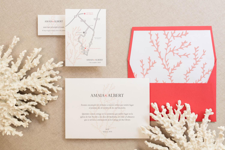 Corales perfectos para una boda de verano